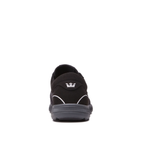 Supra Womens HAMMER RUN Black/3m Low Top Shoes | CA-55471