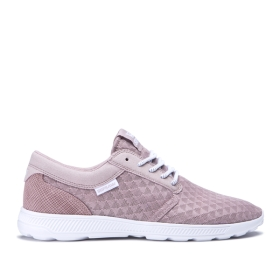 Supra Womens HAMMER RUN Mauve/white Trainers | CA-32409