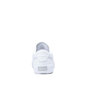 Supra Womens HAMMER VTG White/white Low Top Shoes | CA-30890