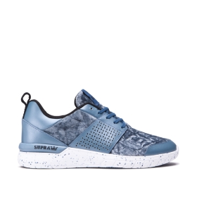 Supra Womens SCISSOR Slate/White Low Top Shoes | CA-63810