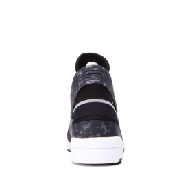 Supra Womens SKYTOP V Black/white High Top Shoes | CA-59466
