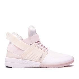 Supra Womens SKYTOP V Light Pink High Top Shoes | CA-12473
